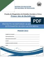 Pre Paes de Sociales 2013