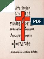 benedizione di sant'Antonio da Padova
