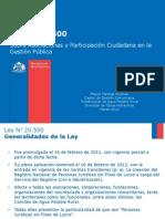 Ley 20500 - Taller Capacitacion Rm_marzo 2012