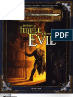 Settings - Return to the Temple of Elemental Evil (4 Players, Lvl 4)