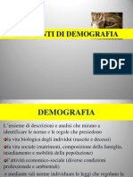 Lezione Di Demografia 2012