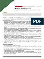 Ficha Instituto DDHH