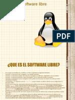 El software libre