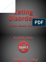 Eating Disorder Presentation
