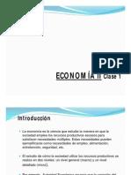 Economia II Clase 1