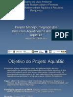 Apresentação AquaBio 2008 versão adaptada