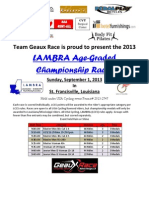 Age Graded Championships
