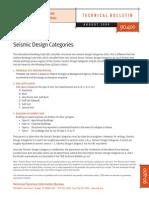 90-400 Seismic Design Categories