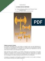 La Doble Hacha Cretense Claudio Miconi Monografia