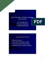 Islamic Banking-Basic principles
