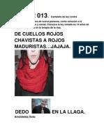Cuellos Corruptos Rojos.