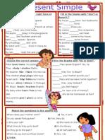 Simple Present Activities for Children