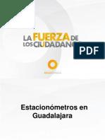 Multas por estacionómetros en Guadalajara son ilegales.- Alianza Ciudadana, Movimiento Ciudadano y Altavoz