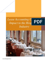 lease accounting changes - impact to the hospitality industry