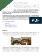 Arqueología en Arequipa