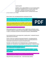 Formas de instauração do inquérito policial - processo penal 19 de março