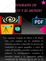 ENFOQUES GEOGRAFÍA DE MÉXICO Y EL MUNDO