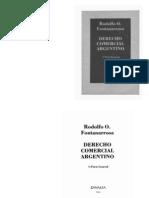 Derecho Comercial Argentino - Fontanarrosa Rodolfo O