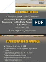 Plan Regulador de Managua