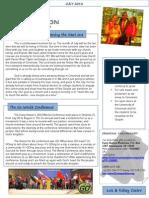 Ministry July 2013 Newsletter