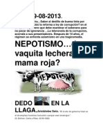 Nepotismo Al Cuadrado
