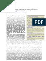 SAINTOUT Florencia - Hay que romper la certeza de un único periodismo