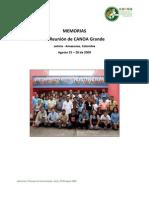 Memorias VI Reunion CANOA