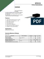 BPW41N Data Sheets