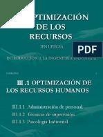 III.IOptimiz.de R H.