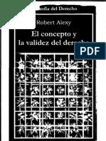 Alexy, Robert - El Concepto y La Validez Del Derecho