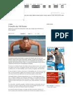 O desafio das 100 flexõe... _ Revista Men's Health
