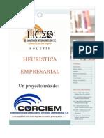 Heuristica Empresarial Oct11 No  001 Año 1
