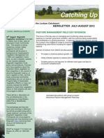 SEQ Catchments Catching Up Newsletter Lockyer July August 2012