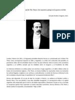 Maurice Hervey, corresponsal de The Times_ Un reportero gringo en la guerra civil de 1891 » The Clinic Online