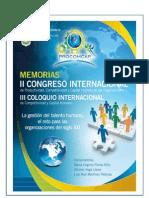 Libro Electronico Memorias II Congreso Internacinal Procomcap 2012