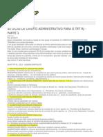 Leandro Bortoleto-40 Dicas de Direito Administrativo Para o Trt Rj - Parte 1