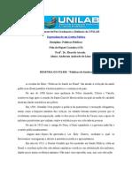 RESENHA FILME  Políticas de Saúde no Brasil Anderson Andrade de Lima