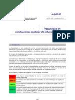 InfoTUB N.12-001 Trazabilidad Oct'12
