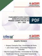 257 Fundamentacion Conceptual de Las Pruebas SabePro