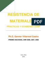 libro resistencia de materiales ii (prácticas y exámenes usmp)