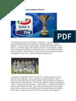 Guia Do Campeonato Italiano 201314