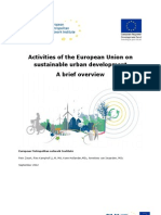 Activities of EU Onto Sustainable Urban Development