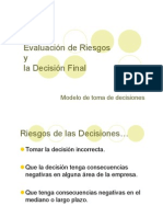 evaluar riesgos decisiones
