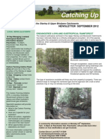 SEQ Catchments catching Up Newsletter Stanley Upper Brisbane September 2012