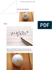Como Calcular o Volume de Uma Esfera - WikiHow