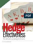 AFP Hedge Effectiveness