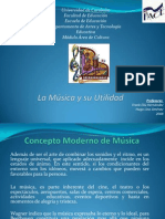 PRESENTACION  MUSICA  MÓDULO DE CULTURA