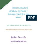 AGENDA ESCOLAR2013 2014 Preescolar Mexico