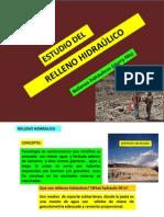 CLASES DE RELLENO HIDRÁULICO 06 AGOSTO 2013