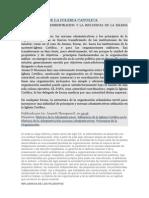 Influencia de La Iglesia Catolica en La Admon.